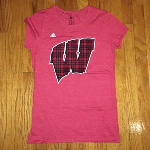 Adidas Wisconsin Badgers T-Shirt